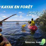 Kayak en forêt immergée spécial famille