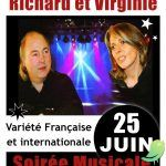 Soirée concert Richard et Virginie