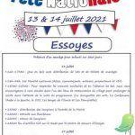 Fête nationale Essoyes