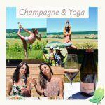 Champagne & Yoga