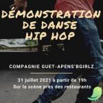 Démonstration de danse Hip Hop