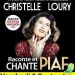 Christelle LOURY chante et racontre Piaf