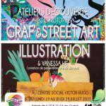 Ateliers découverte Illustration et Graf & Street Art
