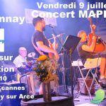 Mapletone en concert