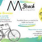 Vide grenier au M Beach