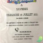 Vide grenier Savières
