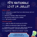 Festivité du 13 juillet