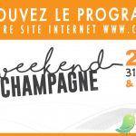 Mon week end en Champagne: programme général