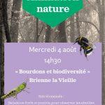 """Animation Nature """"Bourdons et biodiversité"""""""