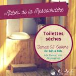Atelier Ressourcière : Toilettes sèches