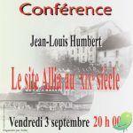 Conférence: le site Allia au XIXe siècle