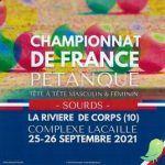 Championnat de France de Pétanque SOURD