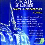 Inauguration de la Route de la Craie circuit 1 à Ormes