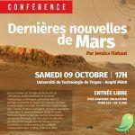 Conférence: Dernières nouvelles de Mars