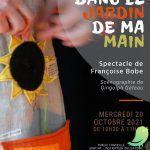 """Spectacle """"Dans le jardin de ma main"""" (Théâtre d'objets)"""