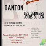 Théâtre: Danton, les derniers jours du lion