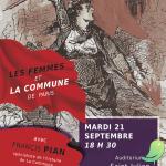 Conférence: Les femmes et la communes de Paris de 1871