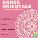 Atelier danse orientale