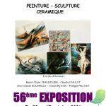 56ème exposition de la Société Artistique de St André