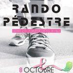Rando pédestre pour Octobre Rose